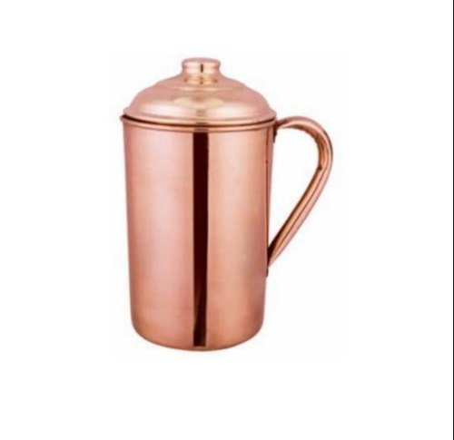 Metallic Hammered Copper Jug, Capacity: 2,3,4,5,6 Liter