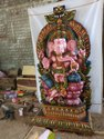 Mahaganapathy 6 Ft Wooden Statue