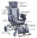 JANA- Reclining Wheelchair