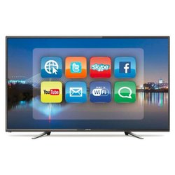 Plazzo Black 32 inches Android LED TV WITH SOUND BAR, Resolution: 1366*768