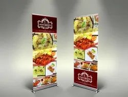 Advertising Rollup Standee