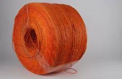 Orange Paper Twisted Rope