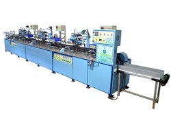 3 Color Automatic Silk Screen Printing Machine
