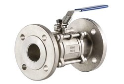 3 Piece Cast Steel Ball Valve