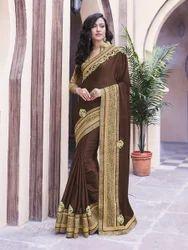 Royal Brown Color Saree