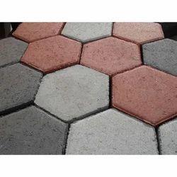 Hexagonal Interlocking Paver Block