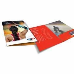 Paper Folder Printing Service, Dimension / Size: Multiple, Local+250 Km