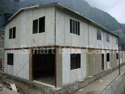 Steel Prefabricated Double Store Building