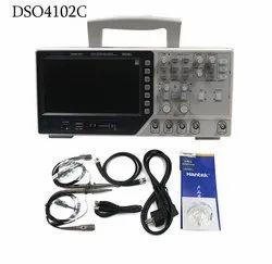 Digital Storage Oscilloscope with Function Generator 100mhz