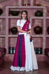 Cotton Printed Woman Fancy Navratri Special Ghagra Choli