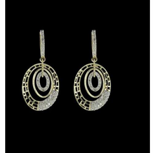 Hiraco Pendant Diamond Earring Set