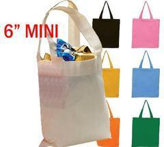 Cotton Tote Bag with Cotton Self Handle