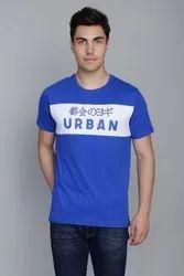 Cobalt Blue Panel T-Shirt