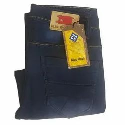Stretchable Slim Ladies Blue Denim Jeans, Waist Size: 28-36 Inch