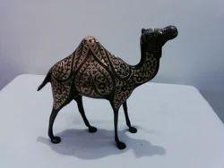 Enamel Etched Engrave Camel