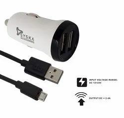Syska Mobile Accessories, Capacity: <1000 mAH