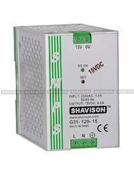Shavison SMPS G31-120-24 CE Marked, I/P : 24VDC, O/P : 24V, 5A