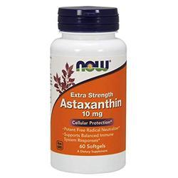 Now Foods Extra Strength Astaxanthin Softgels 10mg 60 Count