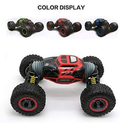 Metal Multicolor Hyper Tumble Double Sided Flip Remote Controlled Transformation