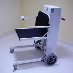 Motorized Floor level Wheelchair with Manual Pushing