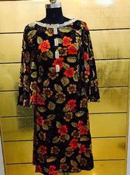 Ladies Woolen Designer Kurti