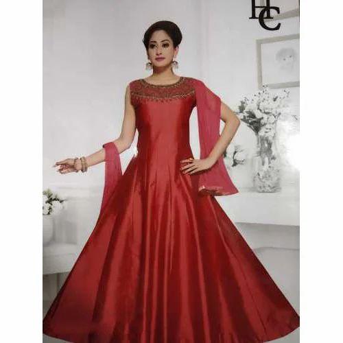 36d78f07dff4 Ladies Long Frock Suit at Rs 1550  piece