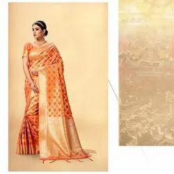 Heavy Woven Silk Saree