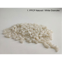 Pp PPCP Natural White Granules, For General Plastics, Packaging Type: Bag