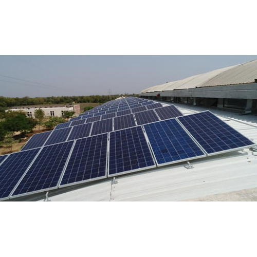 Roof Mounted Solar Power Plant