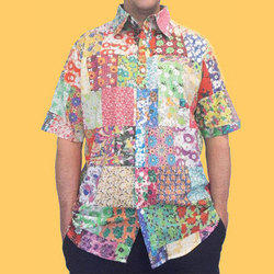 Printed Half Sleeve Mens unique Shirts