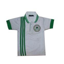 Cotton Unisex Kids Sports T-Shirt