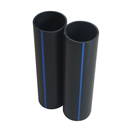 63mm And 75mm Black HDPE Plastic Pipes, Size: 2