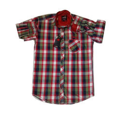 Cotton Full Sleeves Checked Casual Shirts