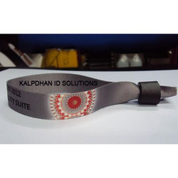 KIS 10 Inch Polyester Personalized Wristbands