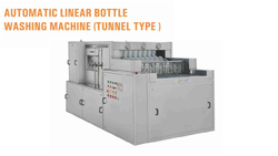 Tunnel Type Vial Washing Machine