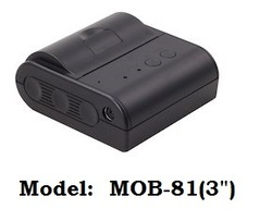 3 Inch Mobile Thermal Printer