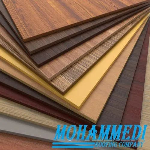 Aluminium Wooden Finish Acp Sheet Thickness 8 10 Mm Rs 128 Square Feet Id 21592832088
