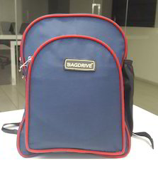 Polyester Blue Kids School Bag