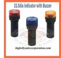 Flasher with Buzzer 22.5mm or Flasher cum Buzzer