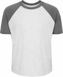Hosiery Raglan T-Shirt, Size: Medium,Large