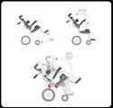 KP-12T Pediatric Power Wheelchair