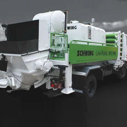 Concrete Line Pump, Building & Construction Machines | Schwing