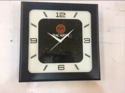 Black and White Promotional Wall Clock