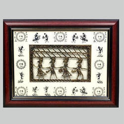 Dhokra or Warli Painting