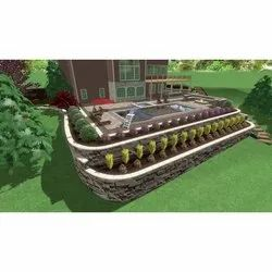 Grass Parks Or Gardening Landscape Design, Coverage Area: 1000 to 3000 Square Feet