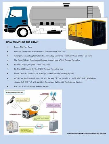 Petrol Pump, Truck ,generator Set Fuel Monitoring System
