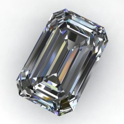 Emerald Cut AAA Quality Excellent Lab Grown Diamond