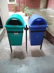Road Side Dustbin With Stand