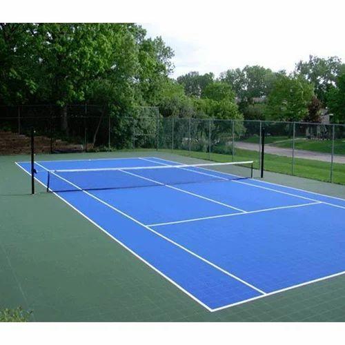 Outdoor Tennis Courts Flooring