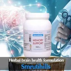 Brain Health Formula Memory Support Supplement - Smrutihills - 900 Capsules